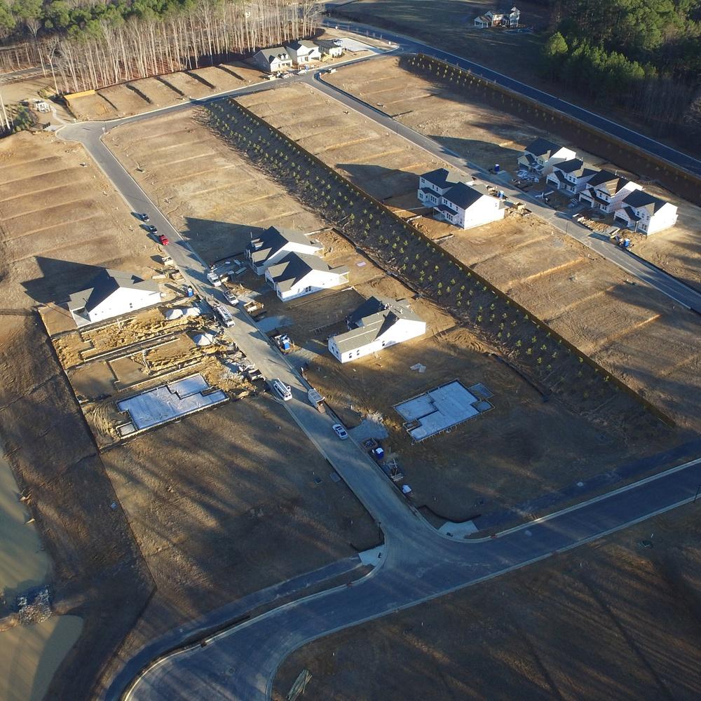 Construction progress Pine Creek