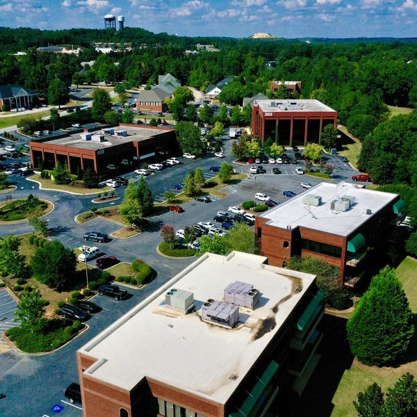 Office Building Parking Lot