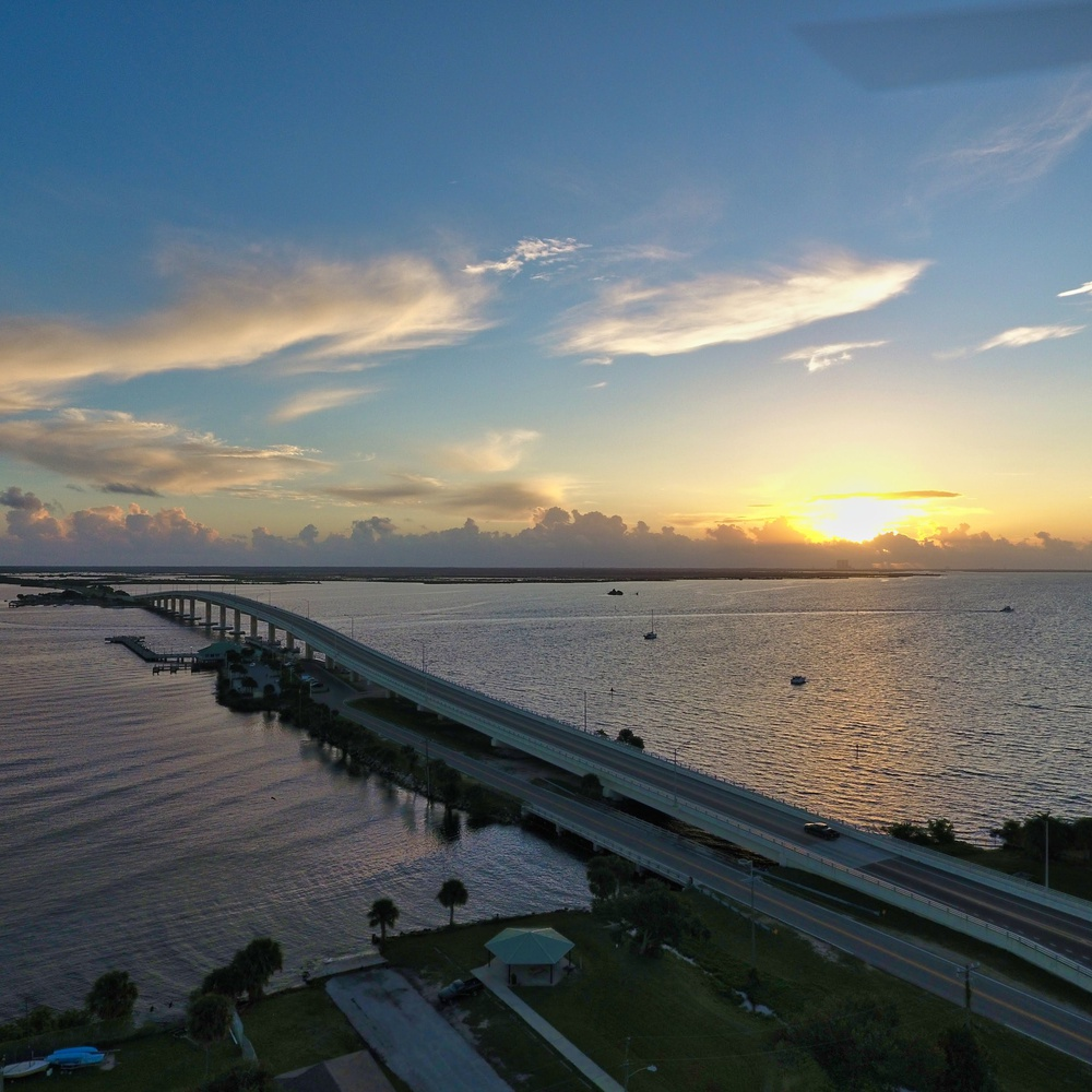 Bridge at sunrise II