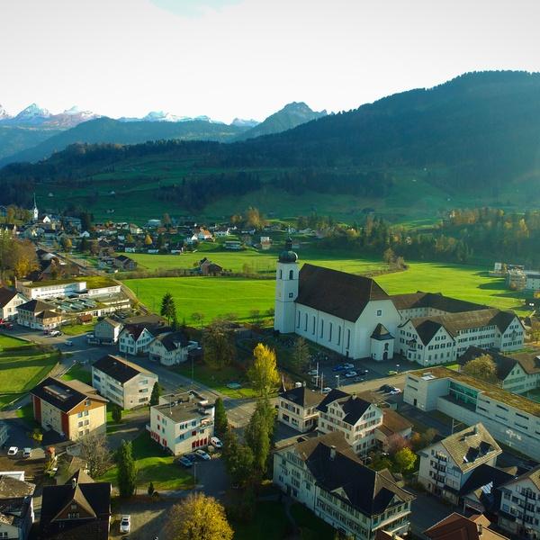 Neu St. Johann small Town