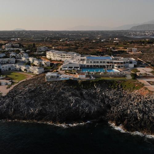Aerial - Crete, Greece