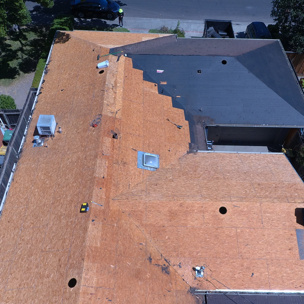 Roof to OSB day 3