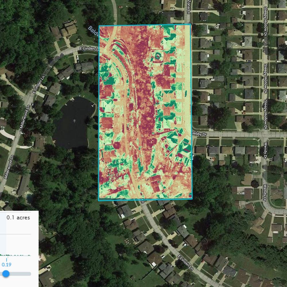 AVTD Aerial Ortho Vegetation Reporting for Construction Analytics