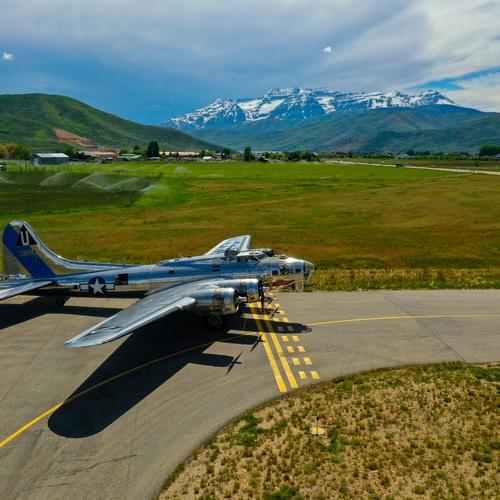 B-17 Airshow, Heber, UT