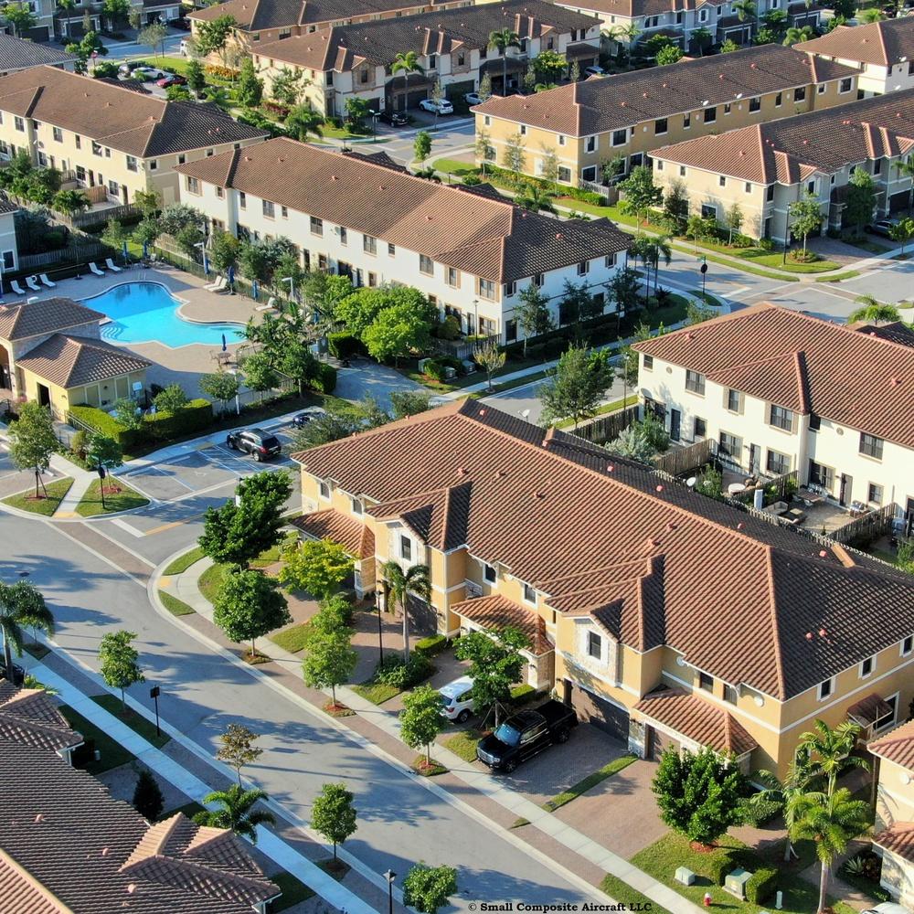 Aerial Residential - Real Estate