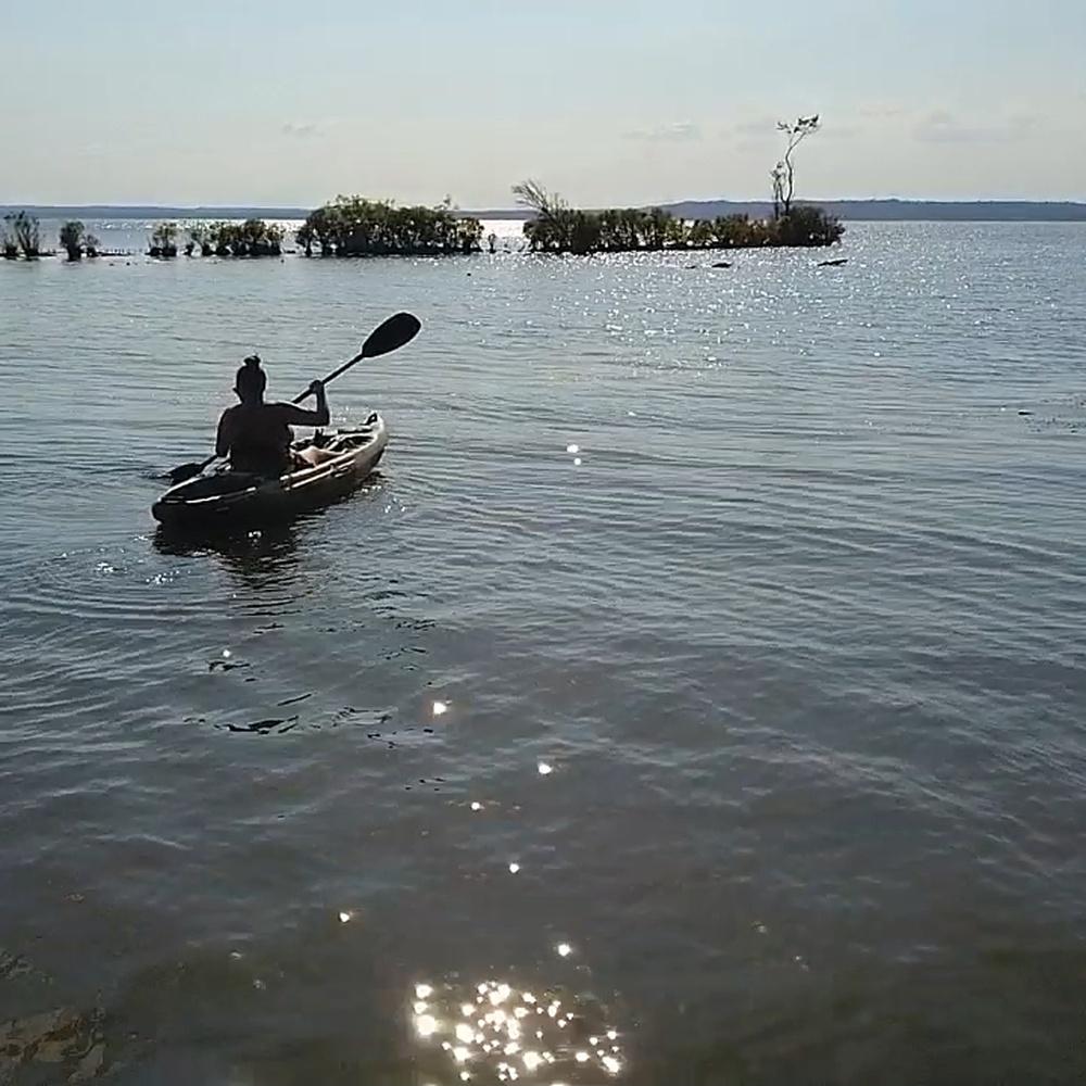 Kayaking at Mallows Bay