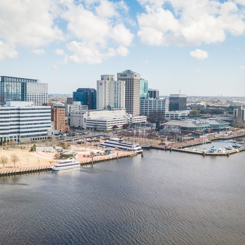 Norfolk, VA Skyline