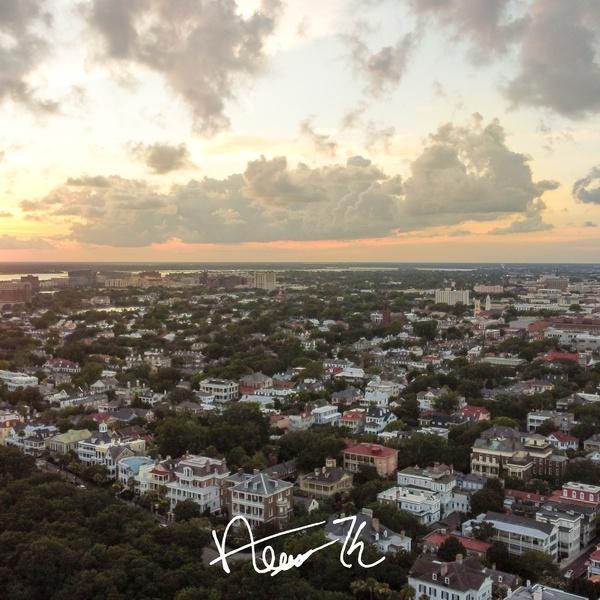Sunset Over Downtown Charleston (Charleston, SC)