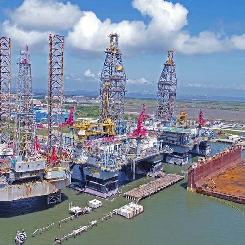 Galveston Oil Rig