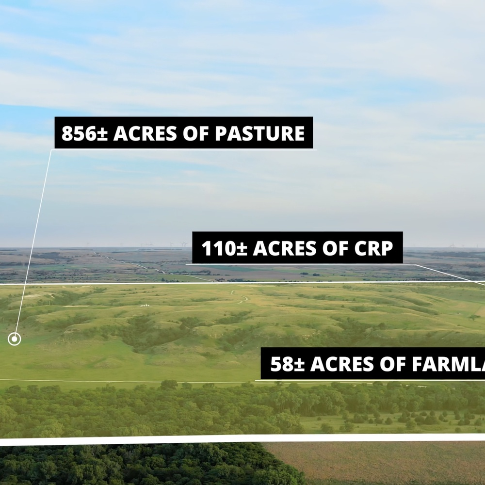 Large Acreage w/Property Lines + Callouts
