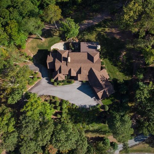 Whitewater Ridge House - Top Down