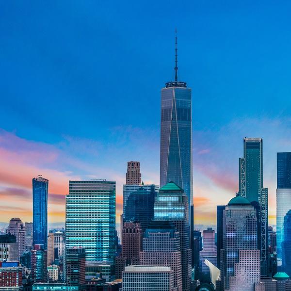 NYC Cityscape Twilight