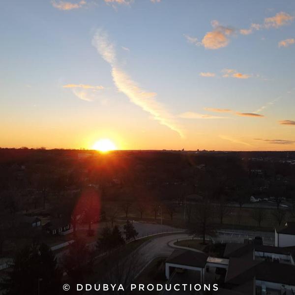 Kansas City Missouri sunset