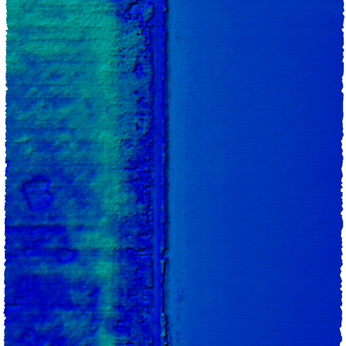 Sample Elevation image: corn, alfalfa, and beans