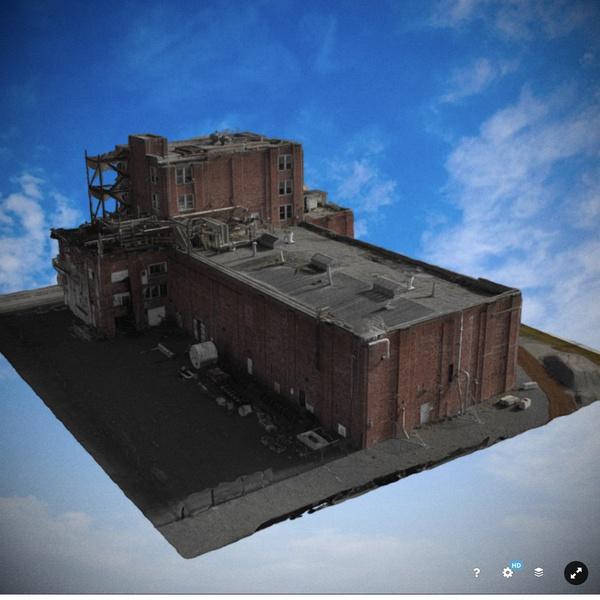 3D Model of GP mill building