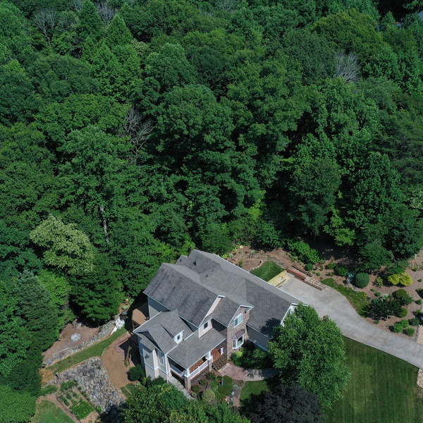 Aerial House Image