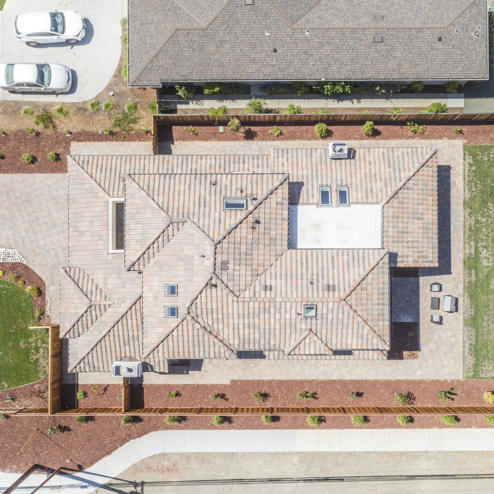 Aerial roof shot 2