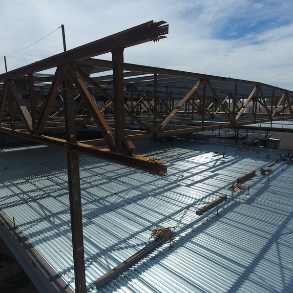 Steel Truss Inspection for New Construction, Marketing Shot