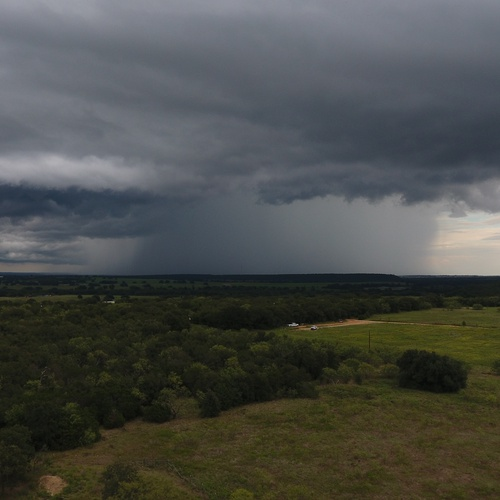 Storms roll through TX Hill Country