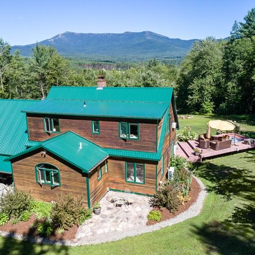 Underhill Vermont Drone Photo
