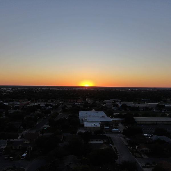 Sunset in Laredo, Texas
