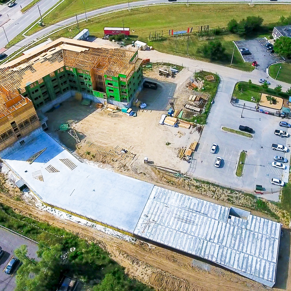 Aerial Photography - Construction