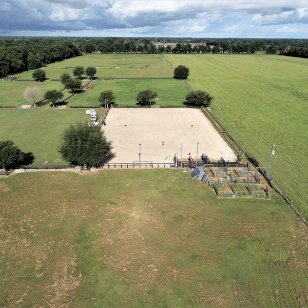 30-Acre Horse Farm in Levy County