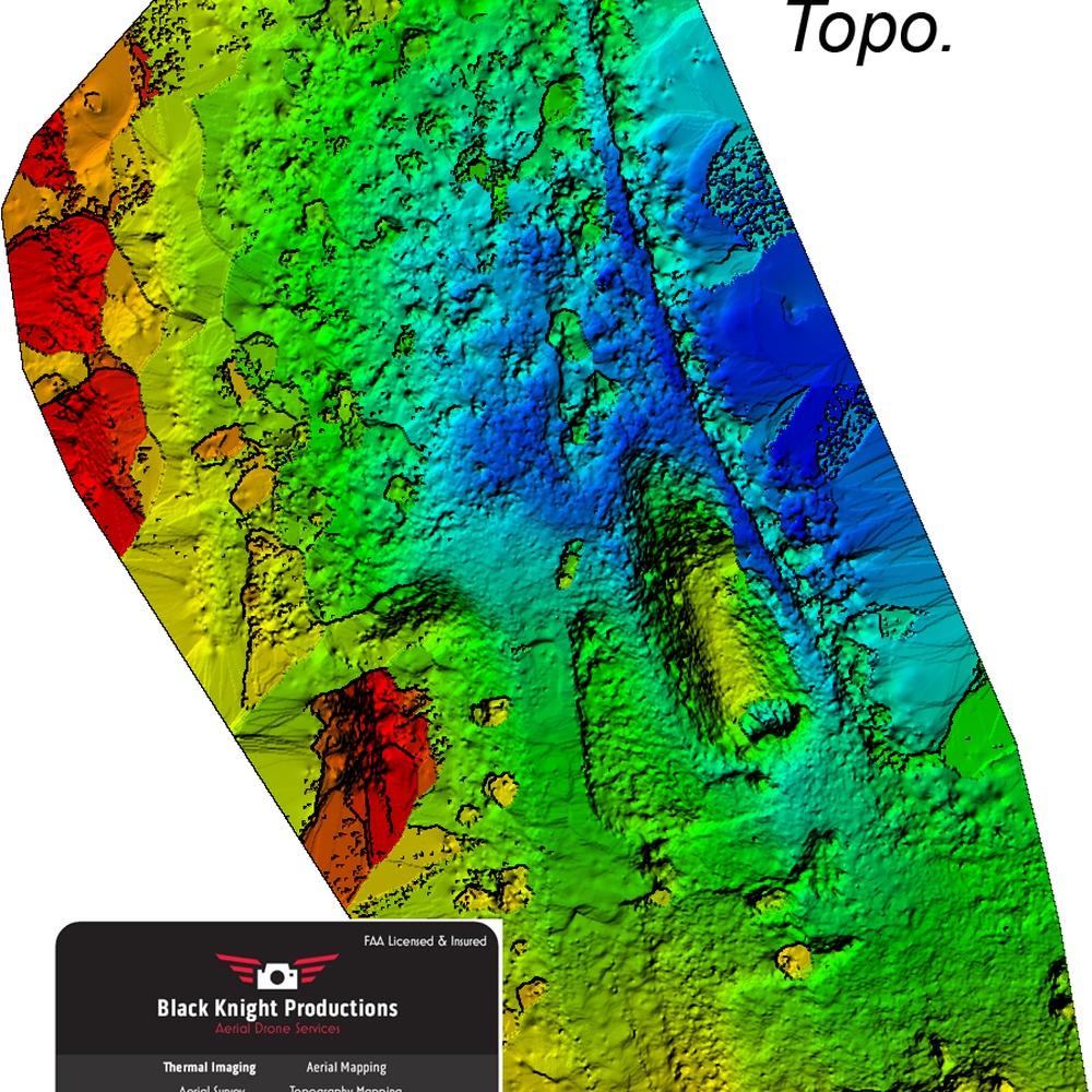 Color Topo Maps