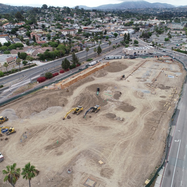 Commercial Real Estate Construction Progression Shot