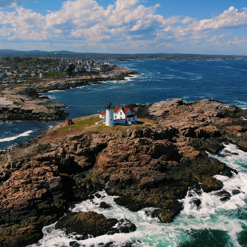 Nubble Lighthouse in York, ME