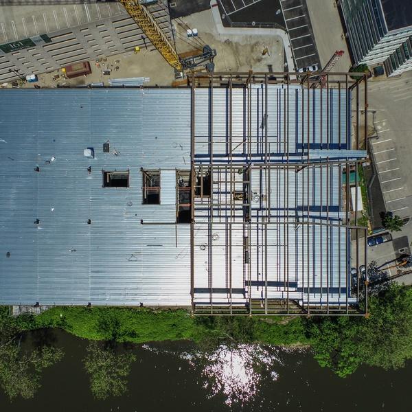 Construction, bird's eye