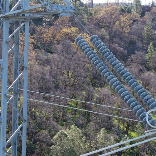 Electrical Distribution Tower Inspection