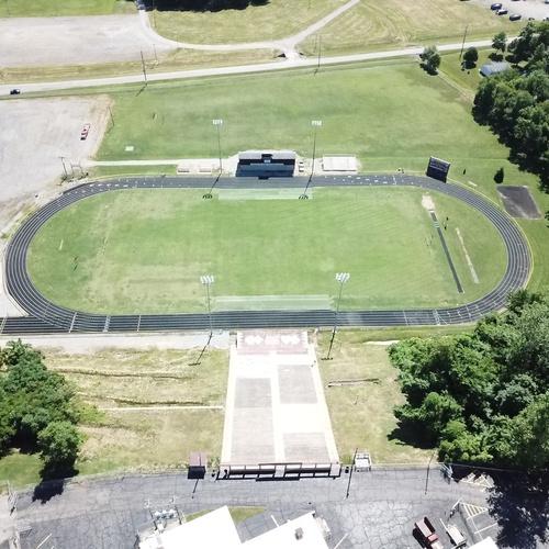 River View Stadium.  Mt. Carmel, IL