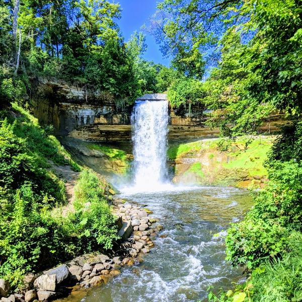 Minehaha Waterfall