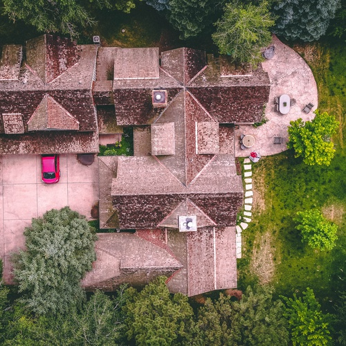 Aerial Real Estate Promotional Images