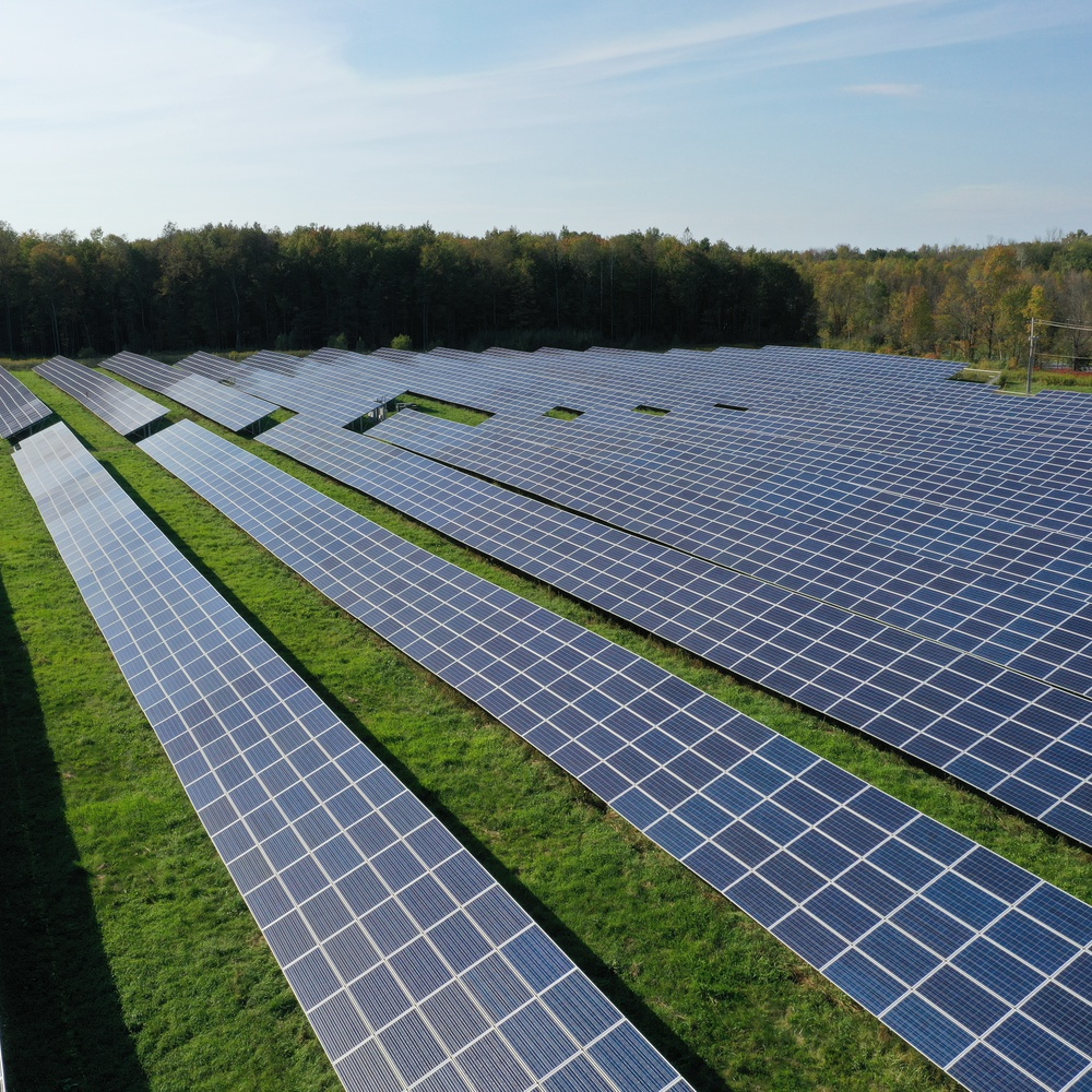Visual and Thermal Infrastructure Inspections - Solar array in New York