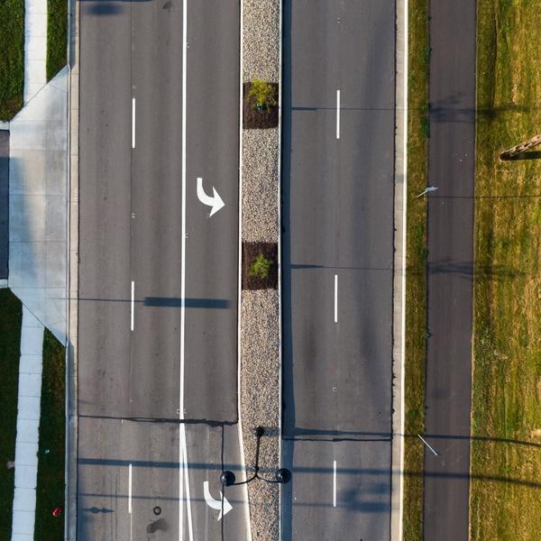 US 42 Medina, OH - Aerial Down