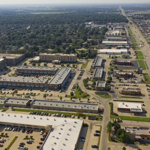 PostRock Shopping Center - Tulsa, OK (Aerial | South)