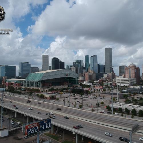 Houston Skyline (Minute Maid Park)