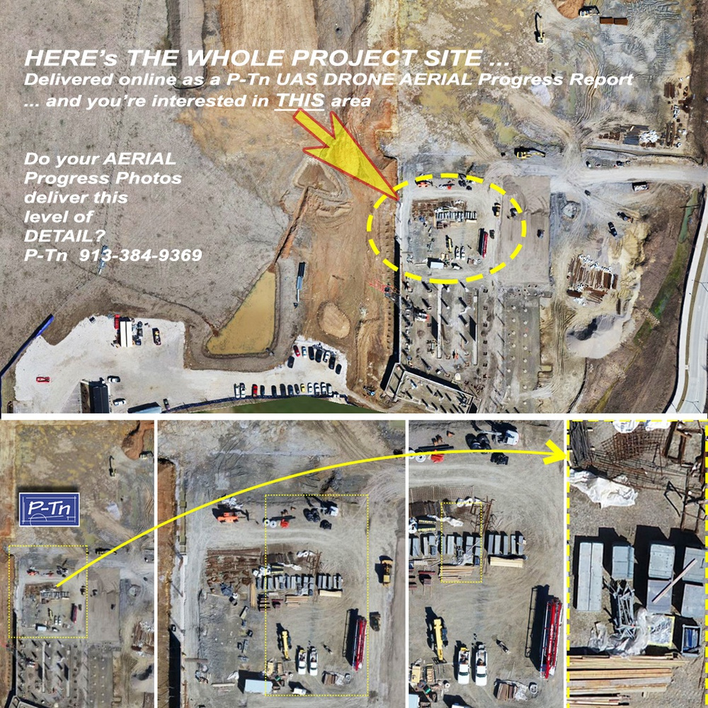 2D AERIAL MAPPING of active construction & development sites.