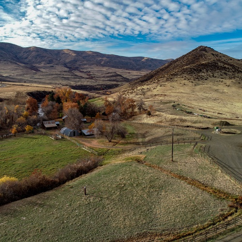 Real Estate Photo-Scenic view of ranch