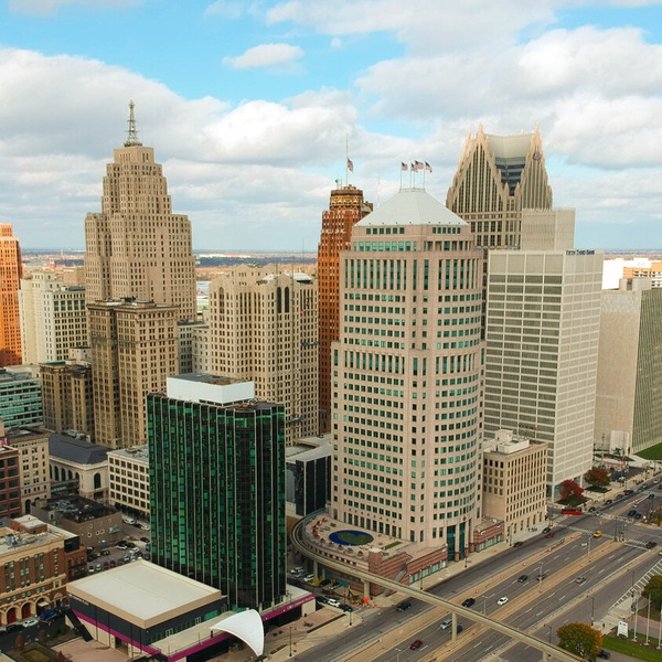 Cobo Hall Downtown Detroit
