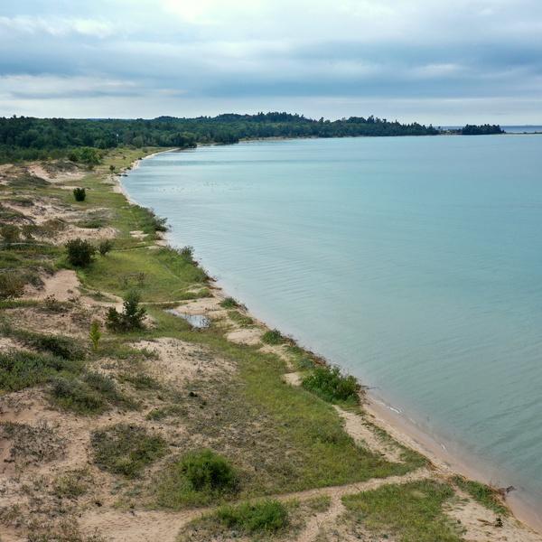 Lake Michigan's Sturgeon Bay