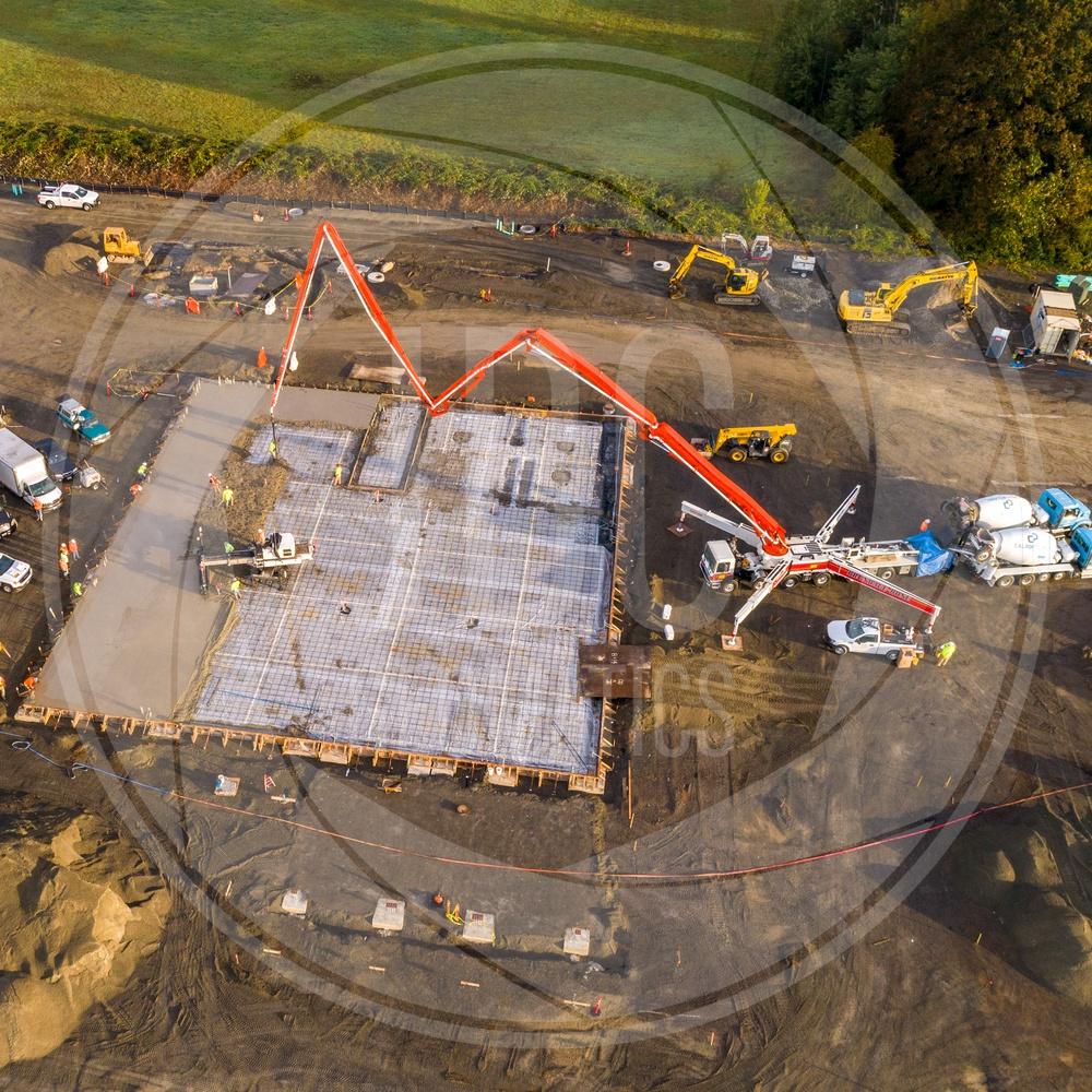 Construction Event: Concrete Pour