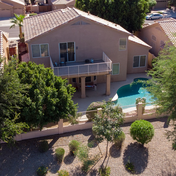 Aerial Shot of a Listing in Chandler AZ