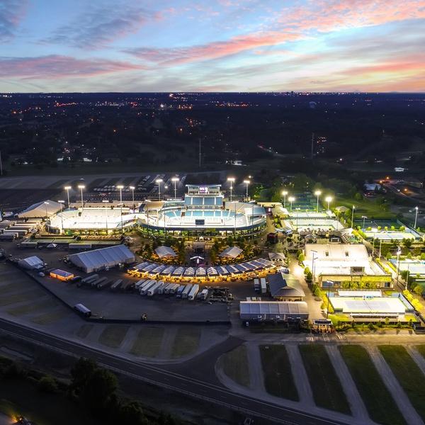 Western & Southern Open Tennis Tournament Grounds 2017 (Mason, Ohio)