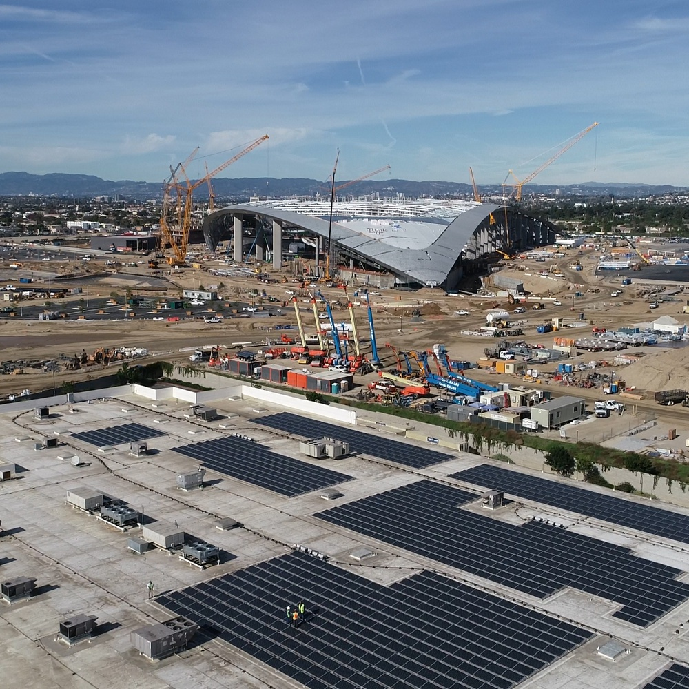 L.A Rams New Stadium
