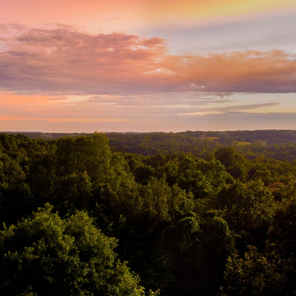 Sunset in the Ozarks