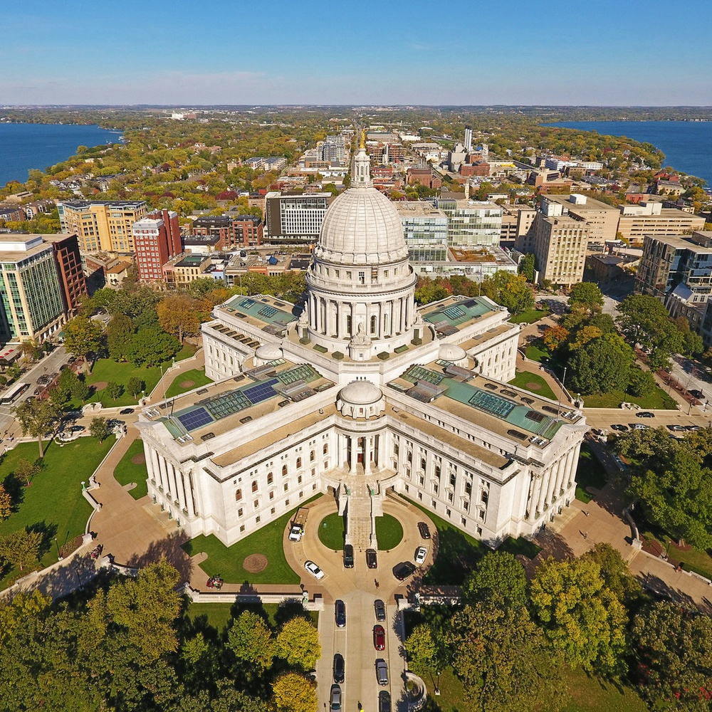 Wisconsin State Capitol Building (Madison, WI)