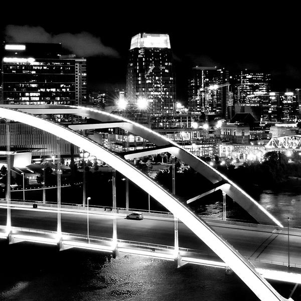 Nashville City Skyline